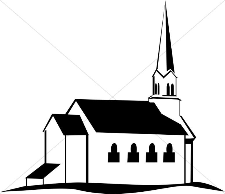 Church cliparts graphic black and white library Church Clipart, Church Graphics, Church Images - Sharefaith graphic black and white library