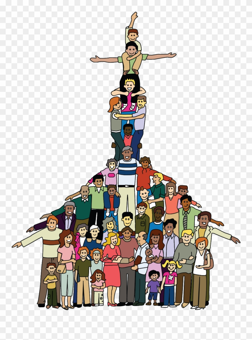 Church community clipart jpg Without Inter-connectedness There Is No Church Dix - Basic Ecclesial ... jpg