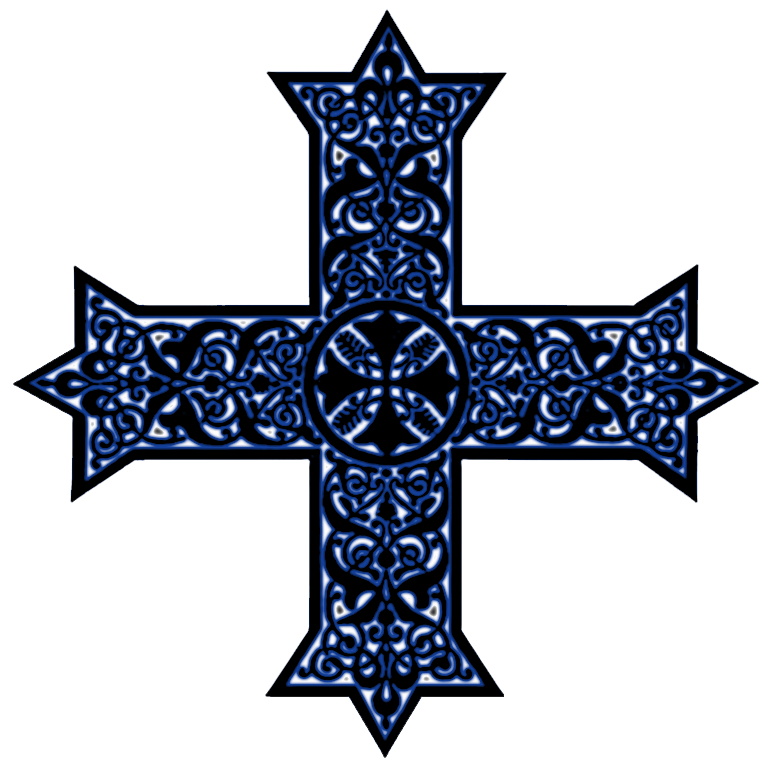 Church cross and bible clipart color free stock Coptic Crosses in Liturgical Colors | Christian Clip Art Review free stock