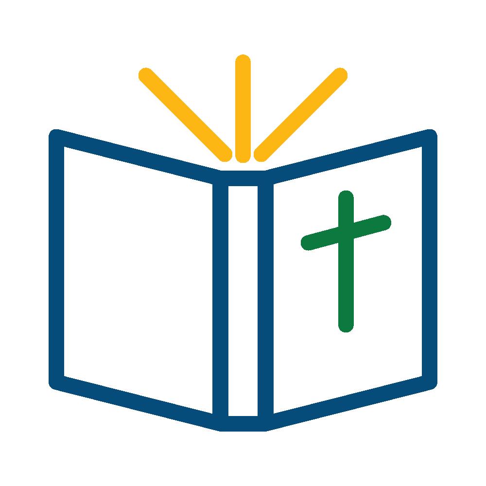 Church cross and bible clipart color clipart transparent bible-color-iconArtboard 1@2x - Cross of Christ clipart transparent