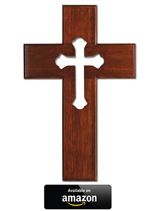 Church cross outdoors clipart image freeuse download Best Artistic and Unique Wall Crosses - Scripture Catholic image freeuse download