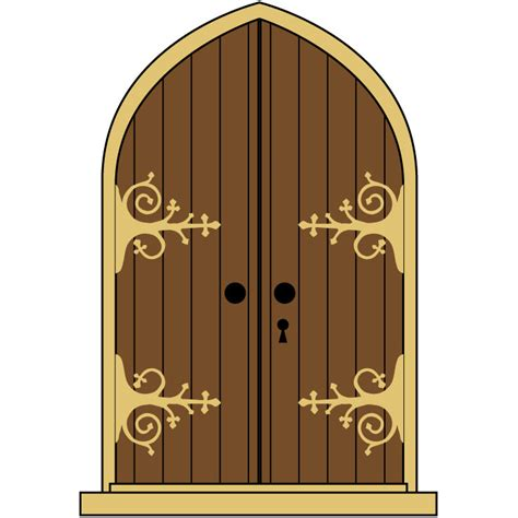 Church doors clipart svg freeuse library Church Doors Cliparts - Making-The-Web.com svg freeuse library