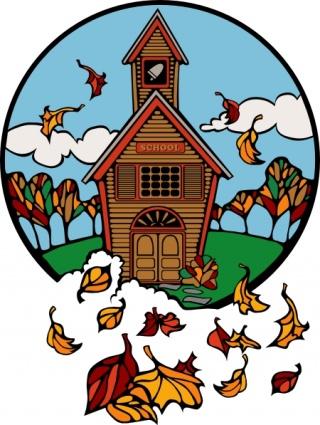 Church fall clipart svg freeuse Autumn church clipart - Clip Art Library svg freeuse
