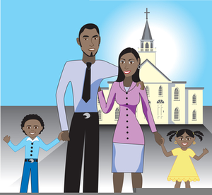 Free clipart for family and friends day vector library download Church Family Friends Day Clipart | Free Images at Clker.com ... vector library download