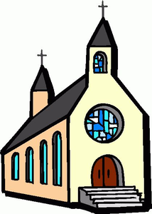 Church free clipart png black and white stock Free Clipart Pictures Of Churches | Free Images at Clker.com ... png black and white stock