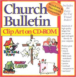 Church department budget clipart banner royalty free Church Bulletin Clip Art: Gospel Light Publications: 9780005168967 ... banner royalty free
