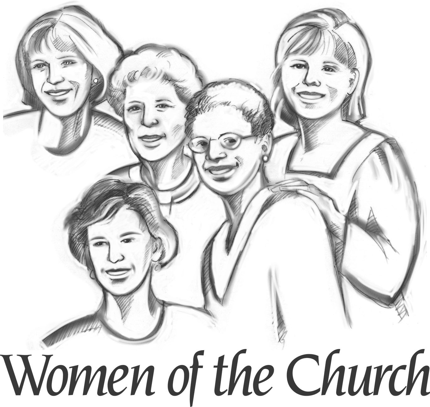 Church ladies clipart svg freeuse Free Church Women Cliparts, Download Free Clip Art, Free Clip Art on ... svg freeuse