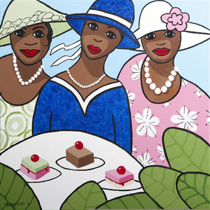 Church ladies clipart svg royalty free Clipart Of Ladies Church Hats | Free Images at Clker.com - vector ... svg royalty free