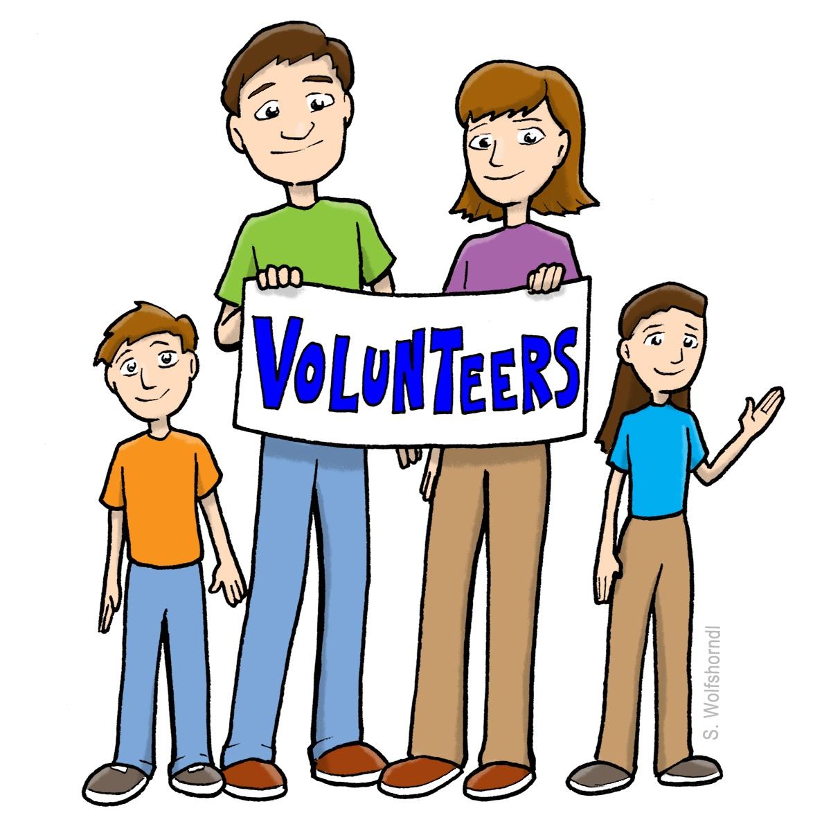 Church members who volunteer in the community clipart banner free Volunteer Appreciation Clipart | Free download best Volunteer ... banner free