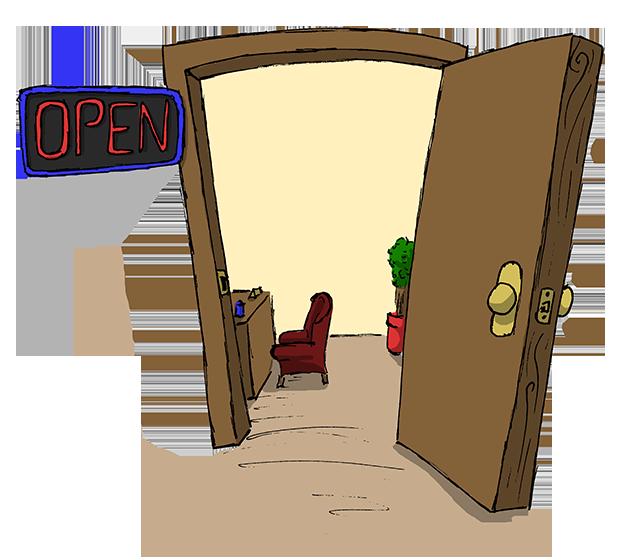 Church open house clipart banner stock Open Door Clipart Transparent. Open Door Clipart Transparent P ... banner stock