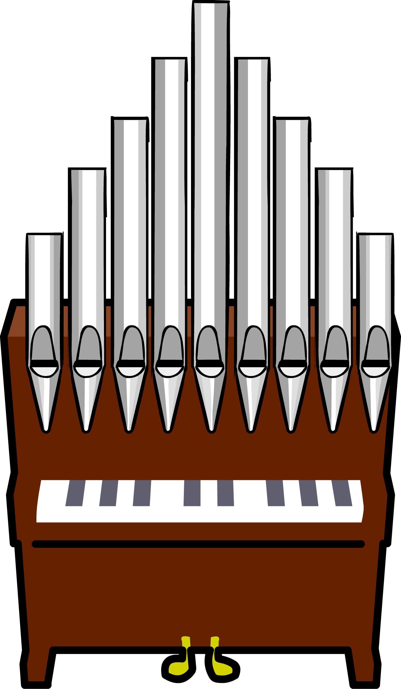 Church organ clipart cute black and white banner free stock Organist Cliparts - Cliparts Zone banner free stock