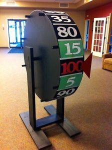 Church picnic wheel of chance game clipart clip transparent Price is Right Big Wheel for Rent (Special Event Rentals) - Winnipeg ... clip transparent