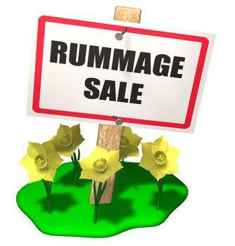 Church rummage sale clipart picture library library Rummage Sale sign   church graphics   Rummage sale, For sale sign ... picture library library