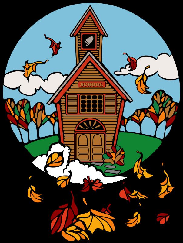 Church school clipart jpg Clipart - school in fall abiclipar 01 jpg