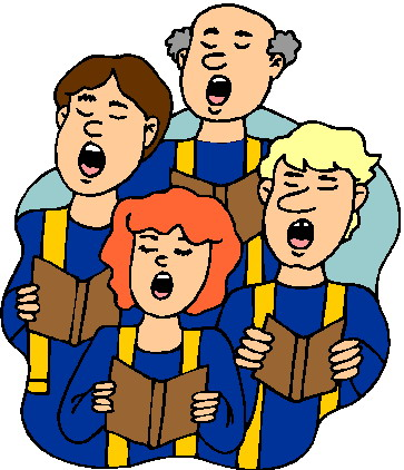 Church singing clipart picture freeuse stock Free Pictures Of People Singing In Church, Download Free Clip Art ... picture freeuse stock