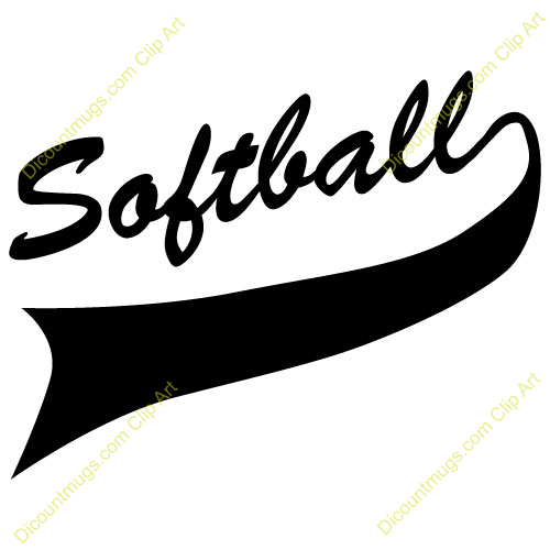 Church softball clipart clipart transparent stock Collection of 14 free Softball clipart banner aztec clipart vintage ... clipart transparent stock