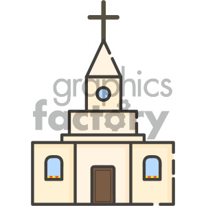 Church vector clipart picture free library church vector royalty free icon art . Royalty-free icon # 405396 picture free library