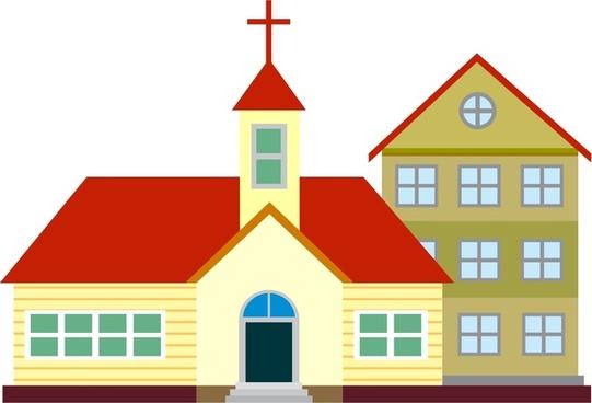Church vector clipart banner royalty free stock Church free vector download (122 Free vector) for commercial use ... banner royalty free stock