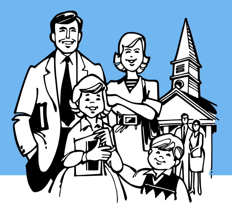 Church with people clipart jpg library library Group Of People Background clipart - Church, People, Person ... jpg library library