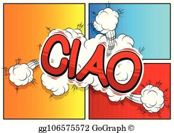 Ciao clipart graphic royalty free Ciao Clip Art - Royalty Free - GoGraph graphic royalty free