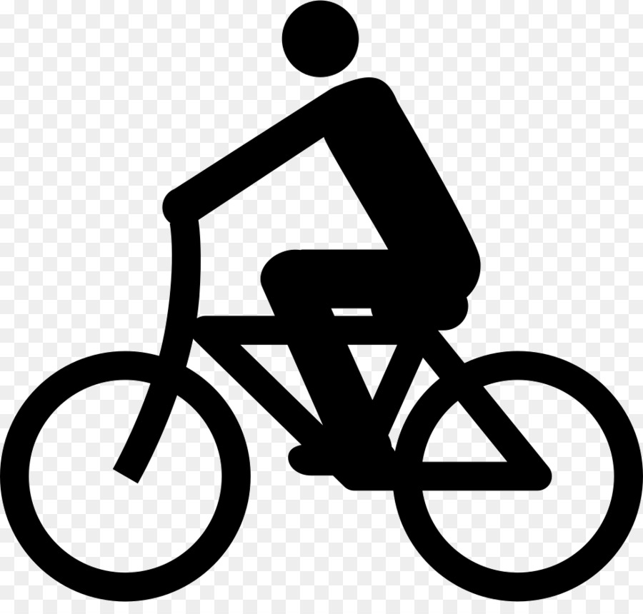 Ciclista clipart free Black And White Frame clipart - Bicycle, Cycling, Font, transparent ... free