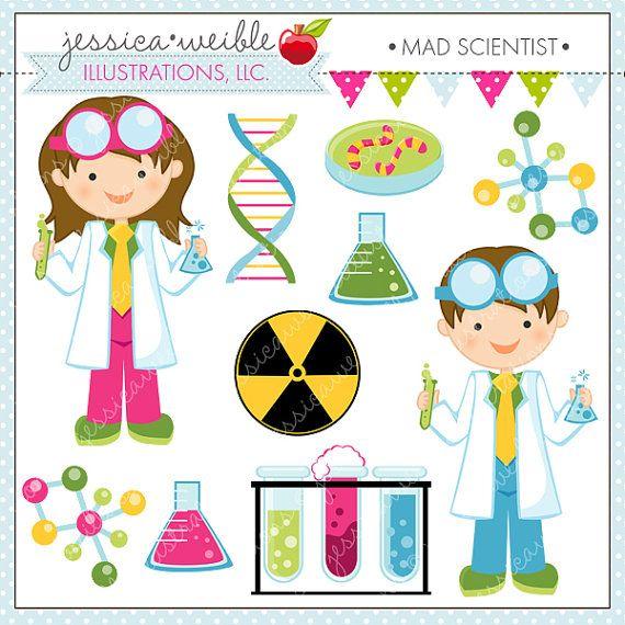 Cientificos clipart graphic royalty free Scientist Kids Cute Clipart, Science Kids, Science Clip art ... graphic royalty free