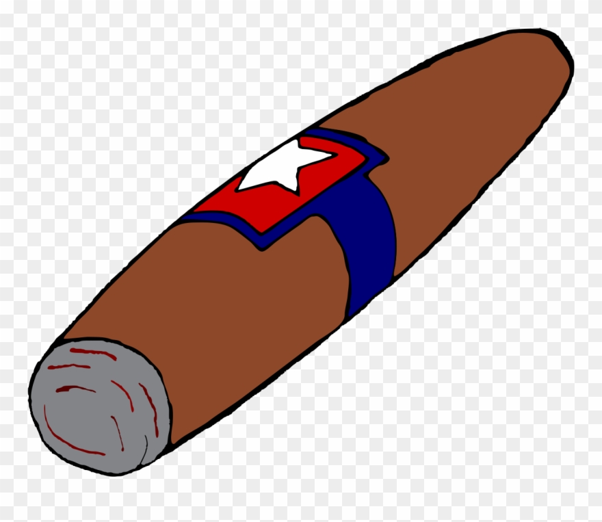 Cigar clipart svg black and white stock File - Cigar Illustration - Svg - Cartoon Cigar Clipart (#189882 ... svg black and white stock