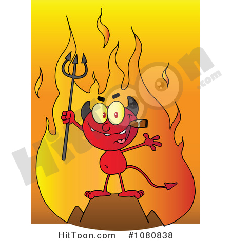 Cigar devil clipart png royalty free stock Devil Clipart #1080838: Little Devil Smoking a Cigar in Front of ... png royalty free stock