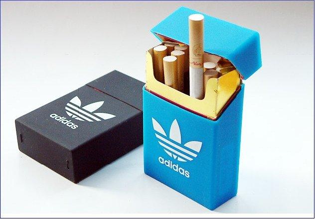 Cigarette case picture free Adidas Silicone Elastic Cigarette Case Cover Leisure Pocket Rubber ... picture free