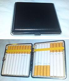 Cigarette case library Cigarette case - Wikipedia library
