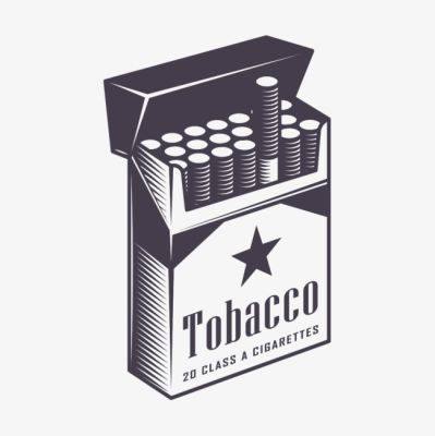 Cigarette pack clipart picture black and white Cigarette PNG - DLPNG.com picture black and white