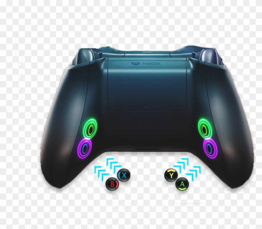 Cinch gaming clipart jpg royalty free download Video Game Controller Transparent - Cinch Gaming Led Buttons, HD Png ... jpg royalty free download