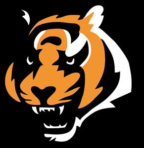 Cincinnatti bangels logo clipart clipart black and white stock Cincinnati Bengals Logo Vector (.EPS) Free Download clipart black and white stock