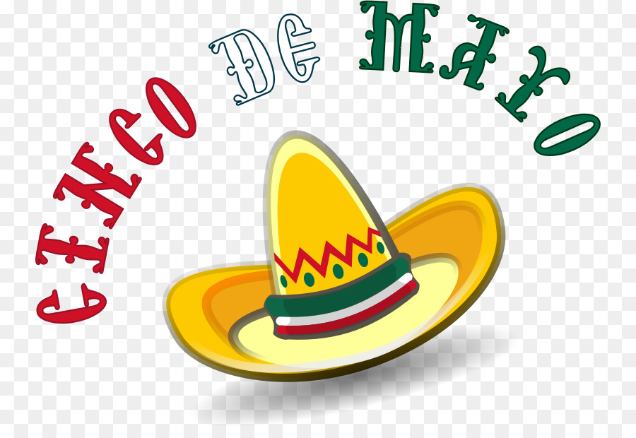 Cinco de drinko clipart svg royalty free Hat Cartoon clipart - Mexico, Yellow, Food, transparent clip art svg royalty free