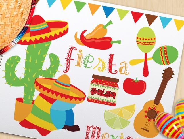 Cinco de mayo fiesta clipart free library Clipart - Cinco De Mayo / Fiesta / Siesta Time   Meylah free library