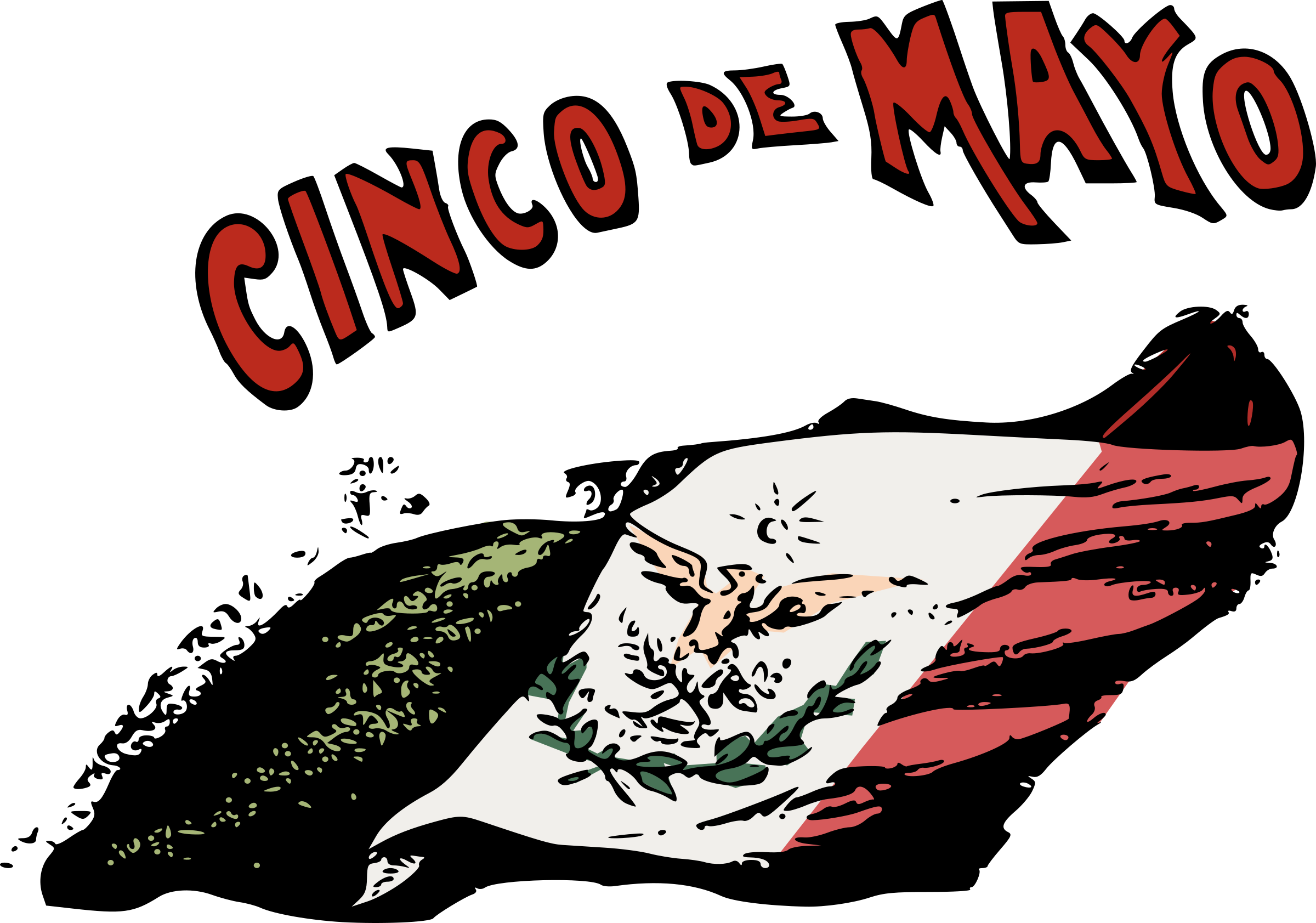Cinco de mayo flower clipart image black and white library Retro Cinco de Mayo Icons PNG - Free PNG and Icons Downloads image black and white library