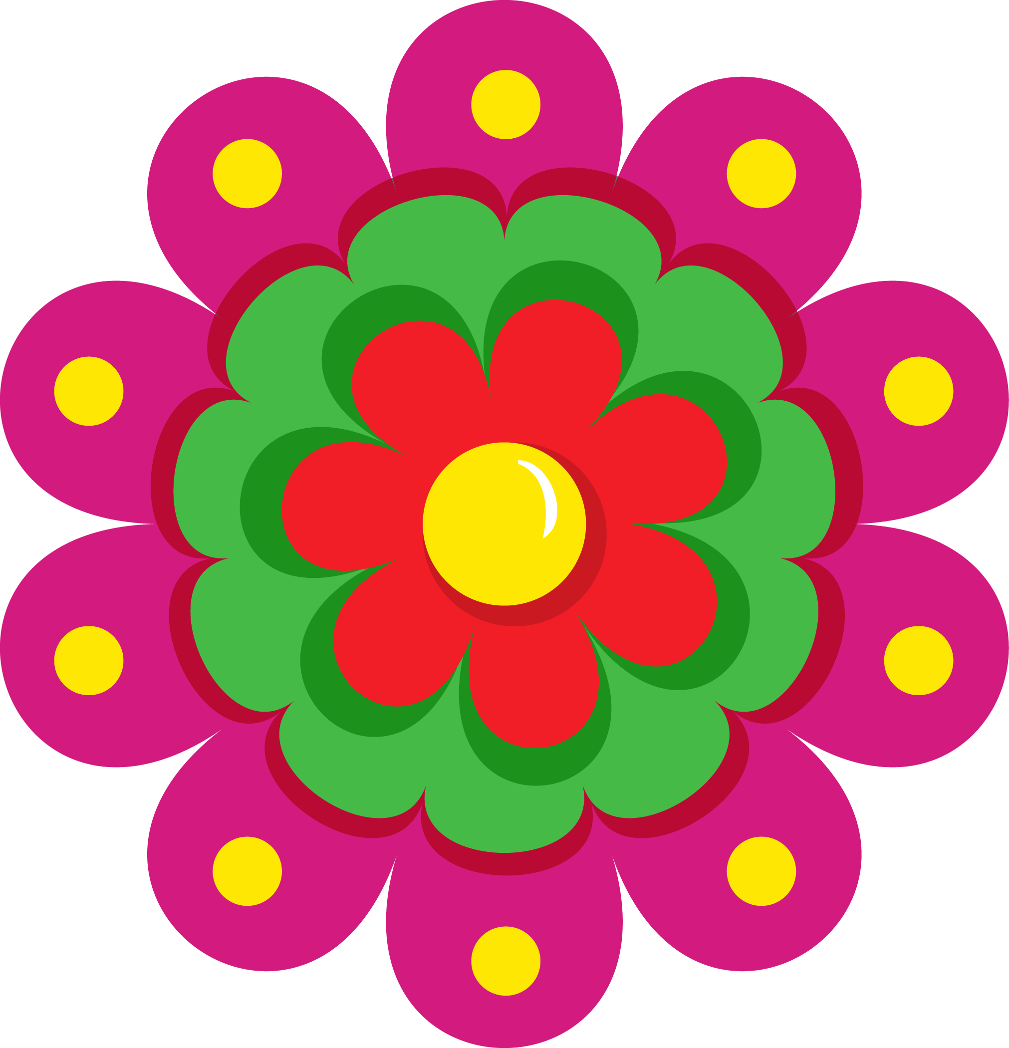 Cinco de mayo flower clipart vector transparent Fiesta Clipart | jokingart.com vector transparent