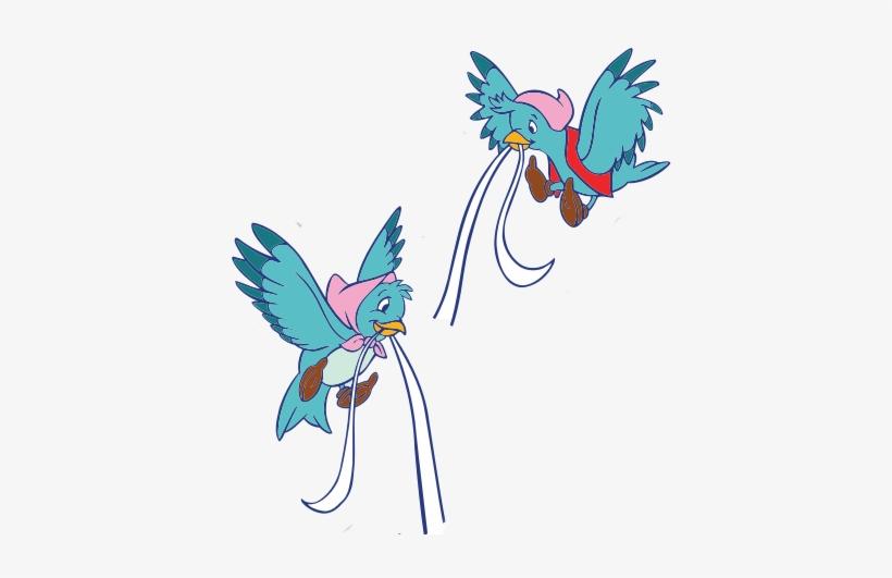 Cinderella birds clipart image royalty free library Cinderella Birds Png Download - Cinderella Birds Transparent PNG ... image royalty free library