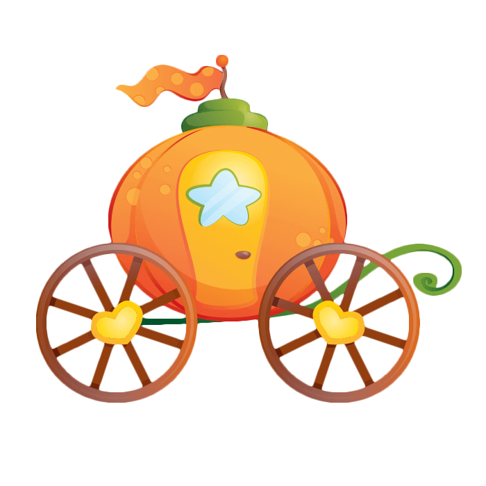 Pumpkin carriage clipart picture stock Cinderella Pumpkin Carriage Sticker Clip art - Cartoon pumpkin ... picture stock