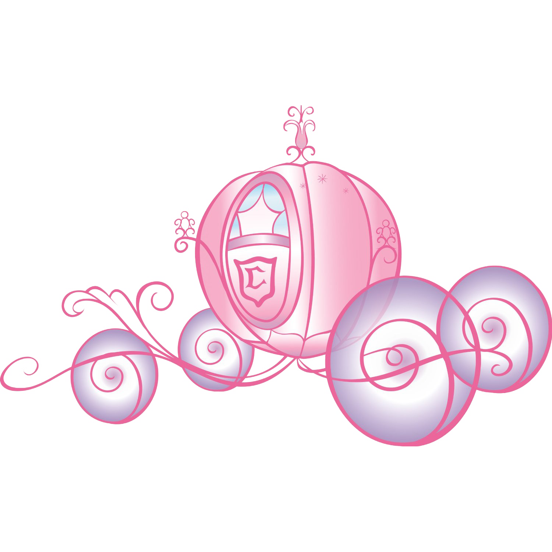 Cinderella pumpkin coach clipart jpg black and white library Wall decal Room Disney Princess Sticker - Cartoon red pumpkin ... jpg black and white library