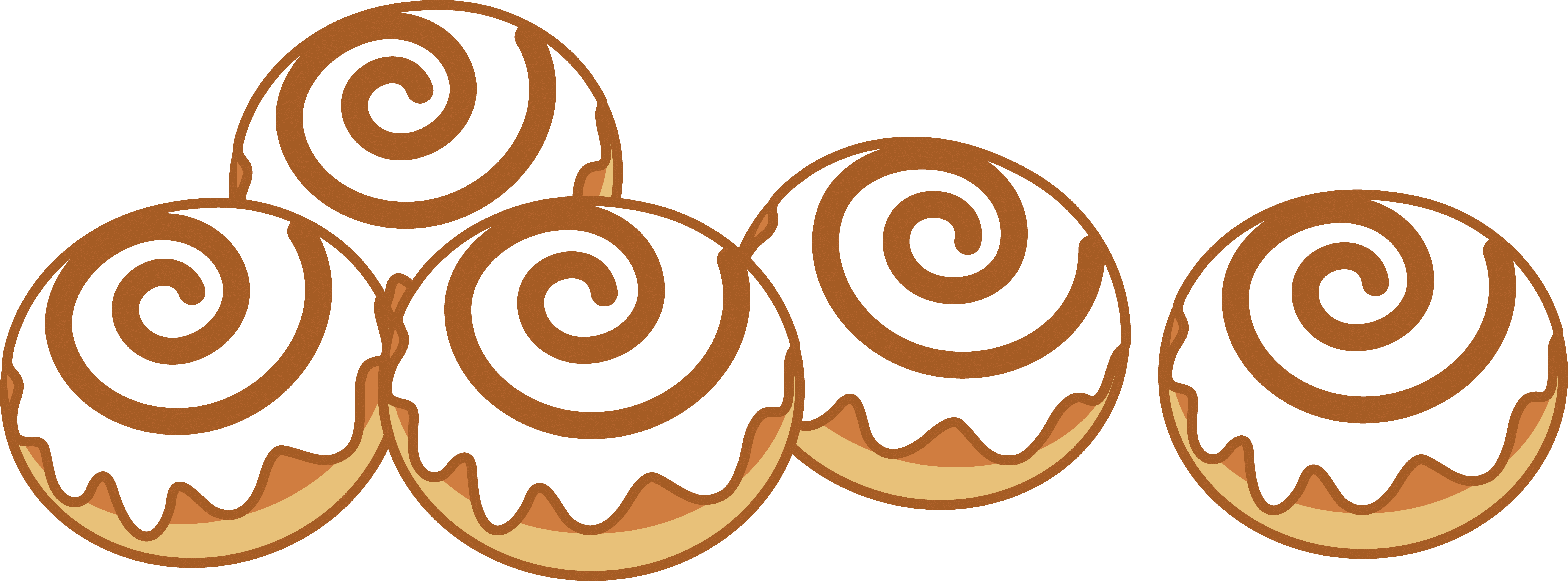 Cinnabon clipart png black and white library Cinnamon Roll Cliparts   Free download best Cinnamon Roll Cliparts ... png black and white library