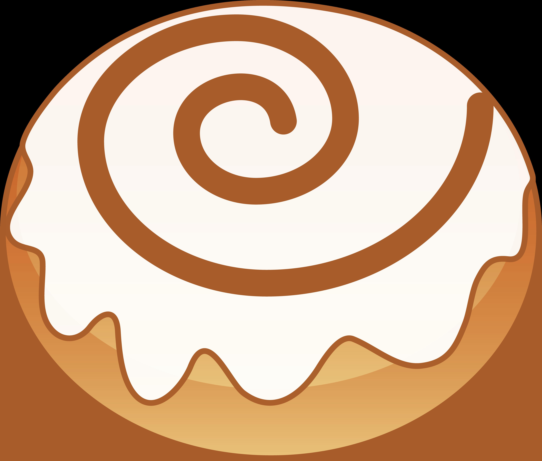 Cinnamon rolls clipart jpg freeuse library Sweet Cinnamon Roll - Free Clip Art jpg freeuse library