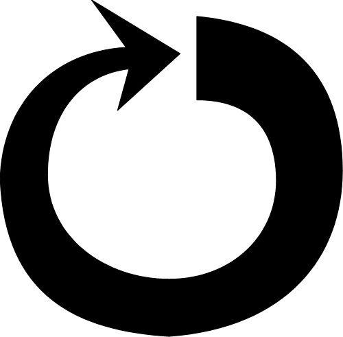 Circle arrow clipart jpg stock Best Rounded Arrow Clipart #29566 - Clipartion.com jpg stock
