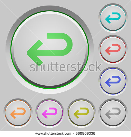 Stock images royalty free. Circle arrow return clipart