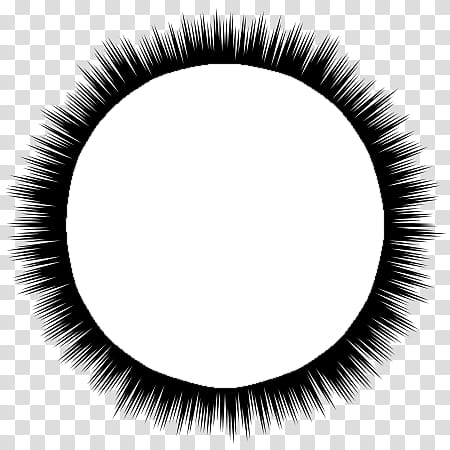 Circle black clipart graphic transparent download Speech bubbles , white circle with black burts transparent ... graphic transparent download