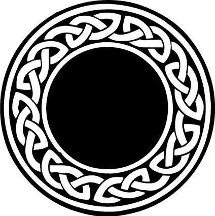 Circle border clipart viking image library stock Image result for celtic knot border circle | Tattoo | Circle tattoo ... image library stock