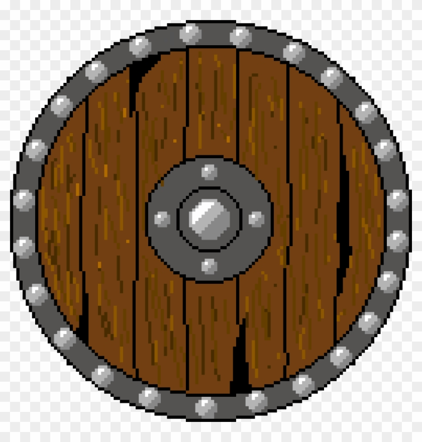 Circle border clipart viking vector royalty free oc] Finished Viking Shield For My Fiance\'s Discord - Minecraft ... vector royalty free