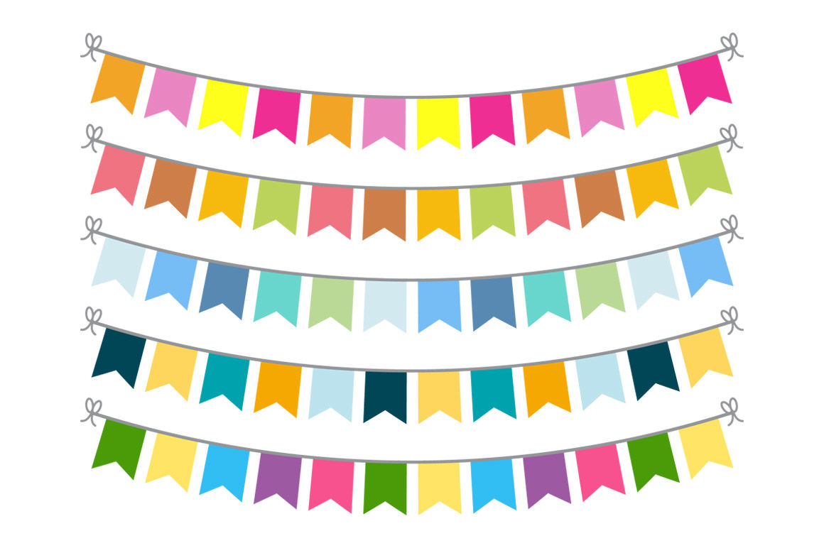Circle bunting clipart banner freeuse library 15 Buntings Clipart, Bunting Banner Clipart, Bunting SVG, Bunting ... banner freeuse library