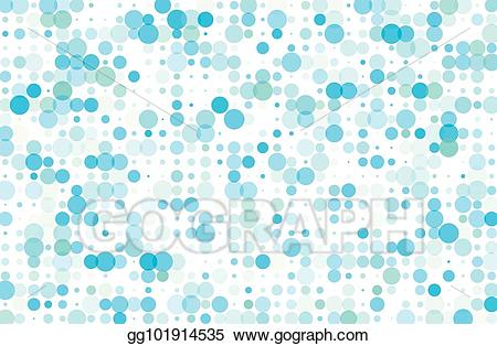 Circle dots clipart teal banner free library Vector Art - Dotted background with circles, dots, point different ... banner free library