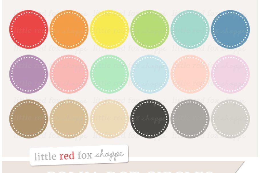 Circle dots clipart teal jpg royalty free download Polka Dot Circle Clipart jpg royalty free download